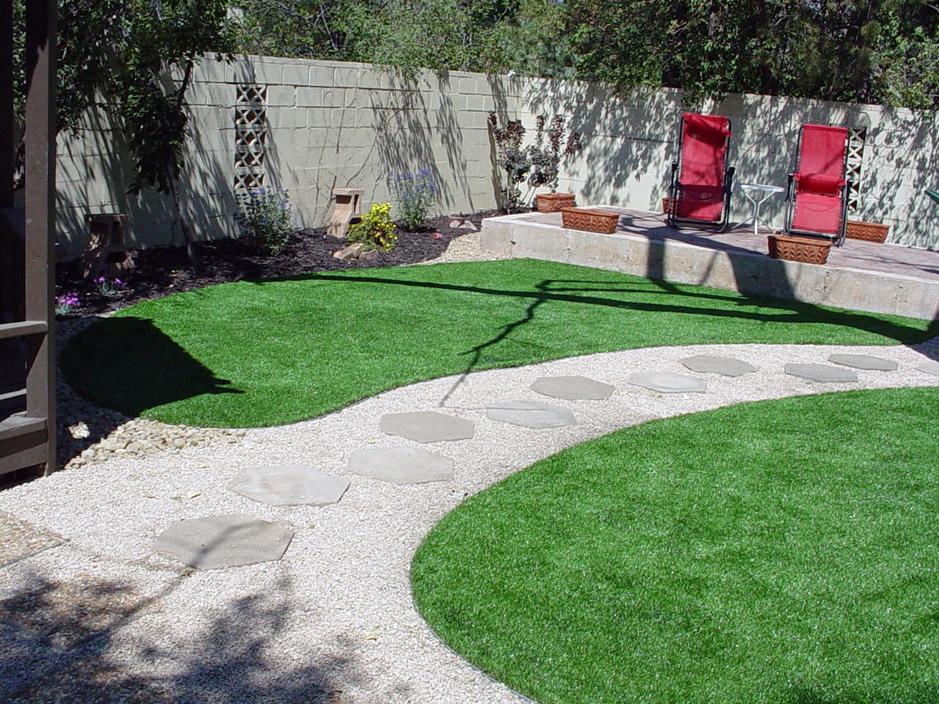 Synthetic Lawn Rural Hill, Tennessee Backyard Deck Ideas, Backyard
