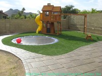 Synthetic Grass River Hills, Wisconsin Playground Safety ...
