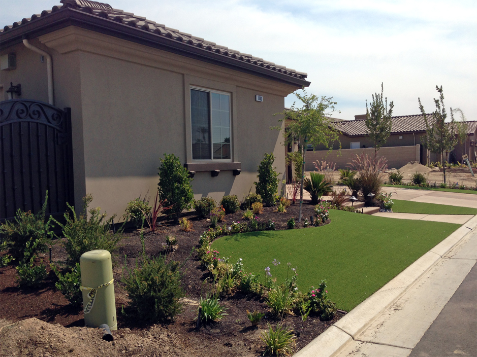 Grass Turf Springer, Oklahoma Landscaping Business, Front Yard