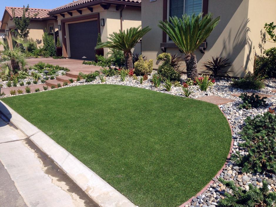 Artificial Lawn Artesia, California Garden Ideas, Small Front Yard