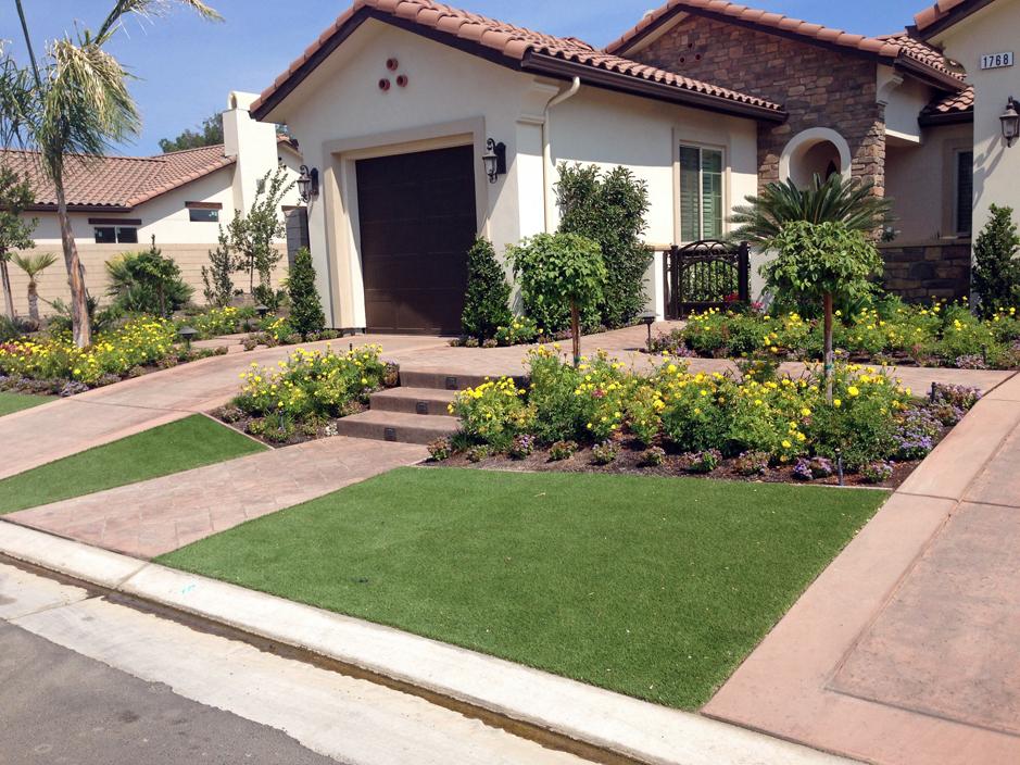 Best Artificial Grass Jamul, California Garden Ideas, Small Front