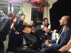 Venezia 73. Musiciste del film Vangelo (Pippo del Bono), unica comparse donne alla fine del film . Credits Gaspar Ozur
