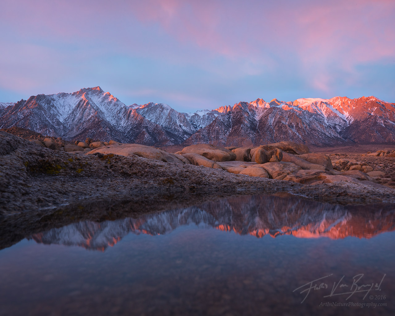 Fall Wallpaper Lake Creative Owens Valley Images California Art In Nature