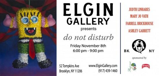 elgin gallery nov 8 DND