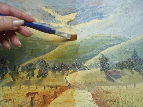 Oil Painting Glazing Tutorial