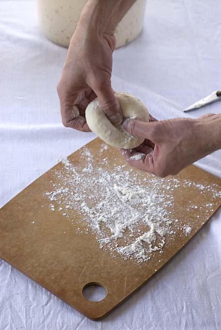 Bagel shaping