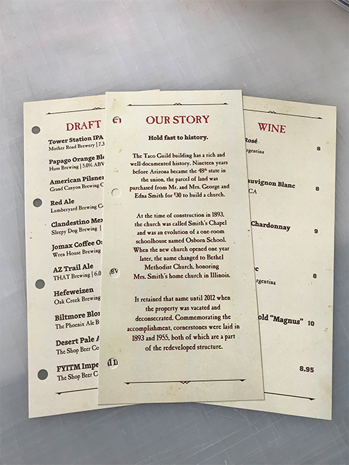 Menu Design Print Your Restaurant Menus All In One Place with Artisan