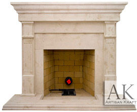 Cast Stone Fireplaces Mantels Stone Surrounds Pre Cast