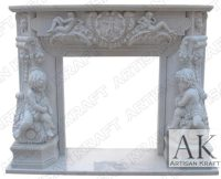 Marble Fireplace Surrounds, Statue Fireplaces, Antique