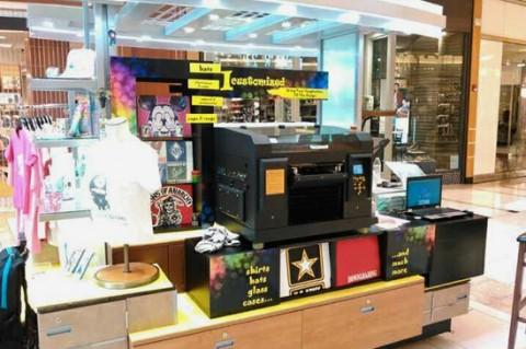 Start your own custom printing kiosk business with artisJet LED UV