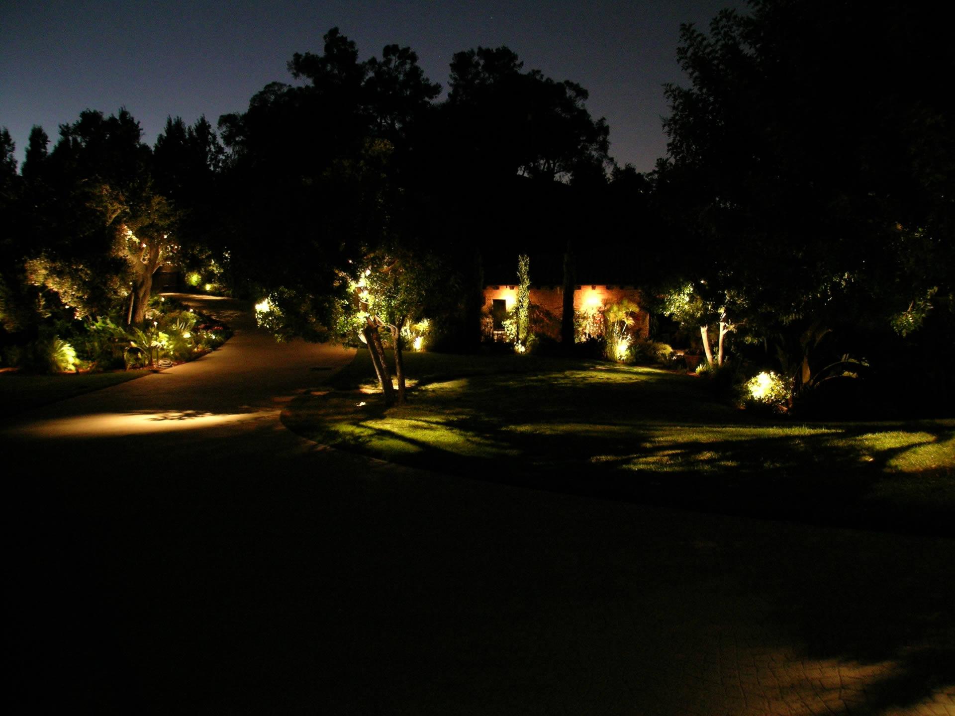 Beverly Park Landscape Lighting By Artistic Illumination