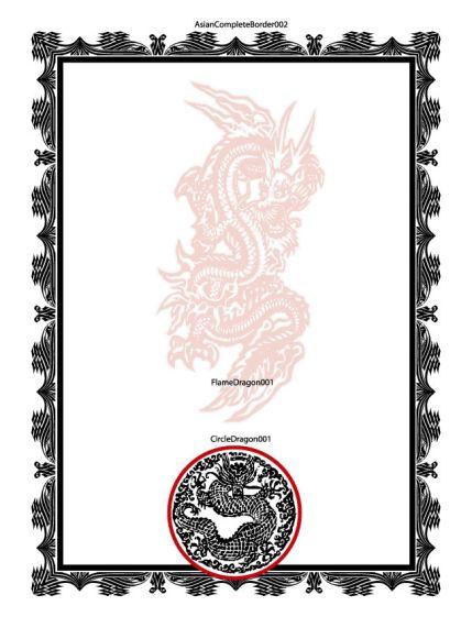 Certificates - Martial Arts Certificate Designs in *VECTOR* Format