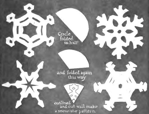 Snowflakes Crafts For Kids Arts And Crafts Projects To