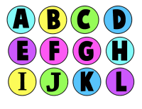 Making an Alphabet Letters Memory Game from Milk Jug Caps ...