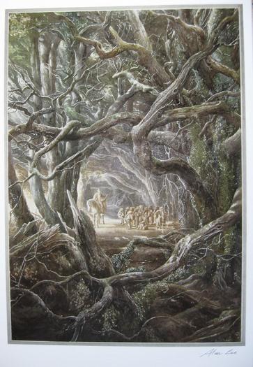 Lotr Fall Wallpaper Tolkien Prints Signed By Artist Alan Lee