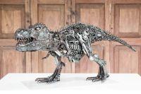 Dinosaur Trex metal art sculpture (Mari9art)