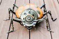 Lady bug metal art sculpture (Mari9art)