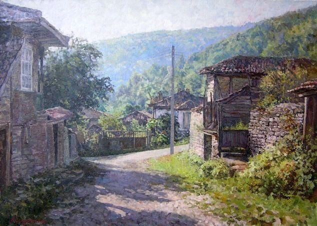Morning In The Village Andrey Soldatenko