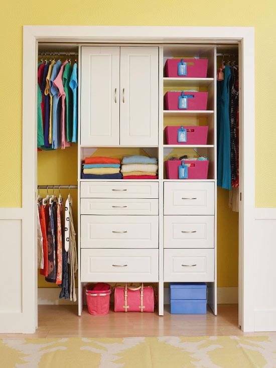 closet para todos os tamanhos de quartos