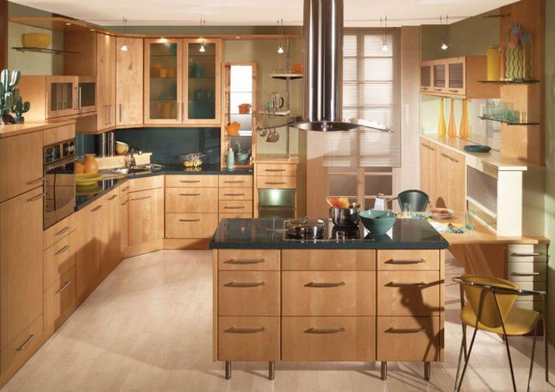 cozinha planejada completa marrom
