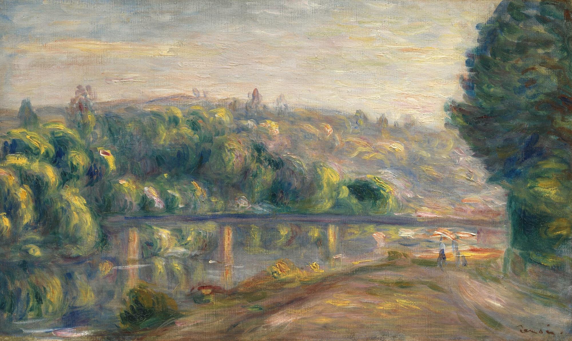 Fall In New York Wallpaper Pierre Auguste Renoir Le Bras Vif A Choissy 600 800k 1