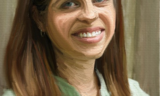 iPad Portrait Painting