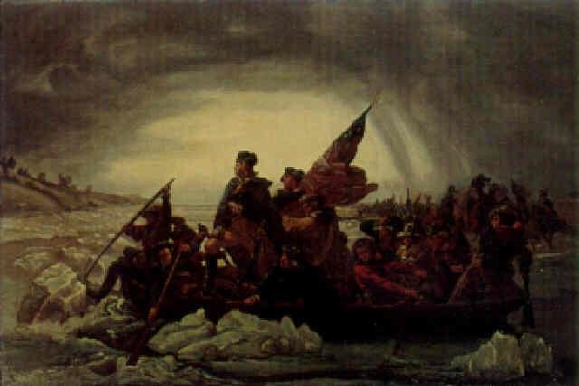 Washington crossing the Delaware by Emanuel Leutze on artnet