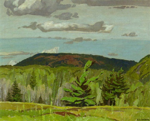 Pine, poplar, spruce, Combermere, Ontario by Alfred Joseph Casson on