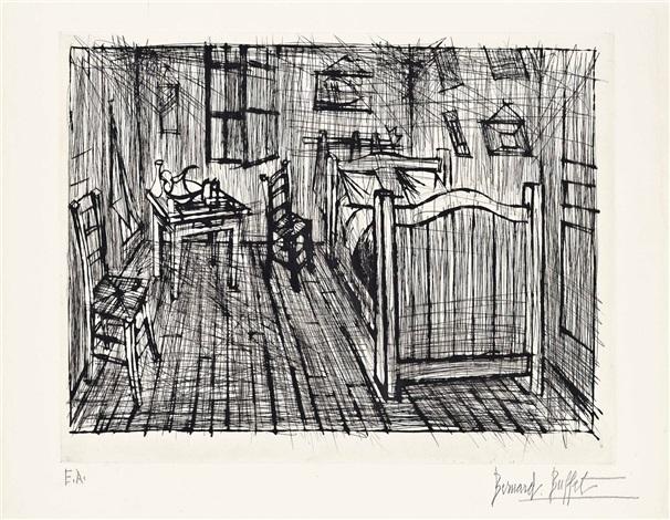 La Chambre de Van Gogh by Bernard Buffet on artnet - Description De La Chambre De Van Gogh