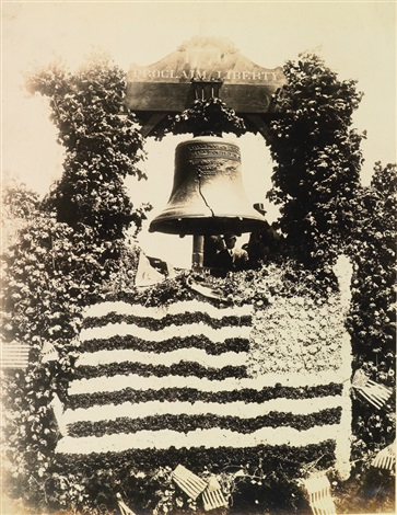 Presentation album with 580 photographs of The Old Liberty Bell