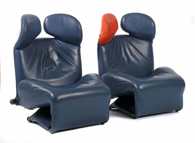 2 Sessel Wink Chair By Kita Toshiyuki On Artnet