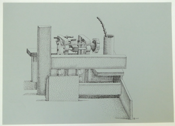 Nathalie Du Pasquier, Untitled, 2009, ink pen on paper. COURTESY OF THE ARTIST.