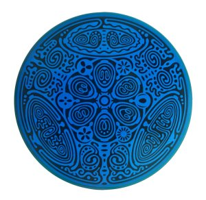 Divine Essence Element Disk -Water-blue