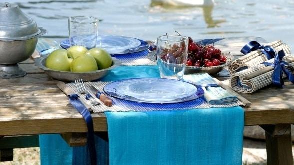 Picnic Table Setting ... & Picnic Table Setting - Castrophotos