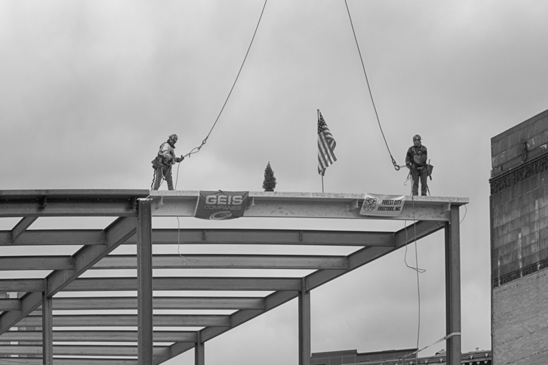 Topping-Off Ceremony - November 18, 2013