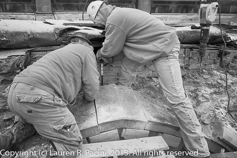 Removing the keystone