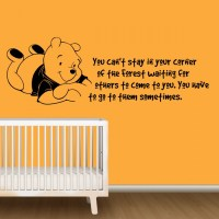 Stickers For Nursery Winnie The Pooh - By Artollo
