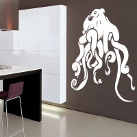 Octopus Vinyl Wall Stickers