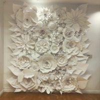 3D Paper flower wonder wall collection and sculptures ...