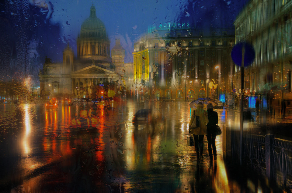 Animated Fire Wallpaper Impressionist Cityscape Photographer 2 By Eduard Gordeev