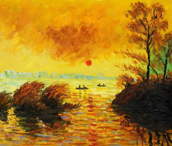 Monet Landscapes paintings