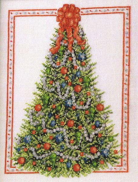 Elegant Christmas Tree - cross stitch pattern by Annie\u0027s Attic