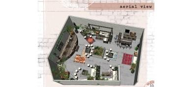 Interior Design w/materials, textures, details