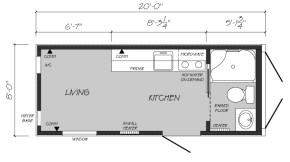 Container floorplan
