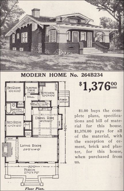 A 'modern home' from the past