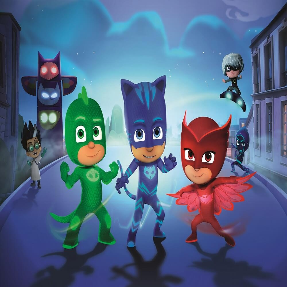 Girl Paw Patrol Wallpaper Pj Masks Live Time To Be A Hero Presented By Eone And