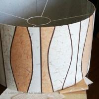 Drum Shade Floor Lamps - Sarah Walker ArtShades