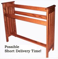 A handcrafted MISSION STYLE Solid Hardwood Amish made ...
