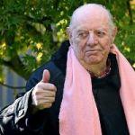Playwright Dario Fo, 90