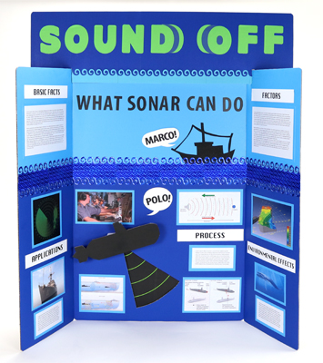Make a Science Fair Project about How Sonar Works Submarine Sonar